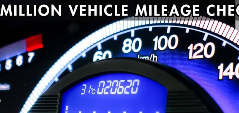 1 Million Vehicle Mileage Test